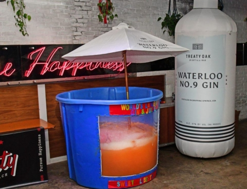 Miami Bar Breaks Snoop Dogg's Record For Making World's Largest Gin and Juice Cocktail (With Kennesaw Juice )